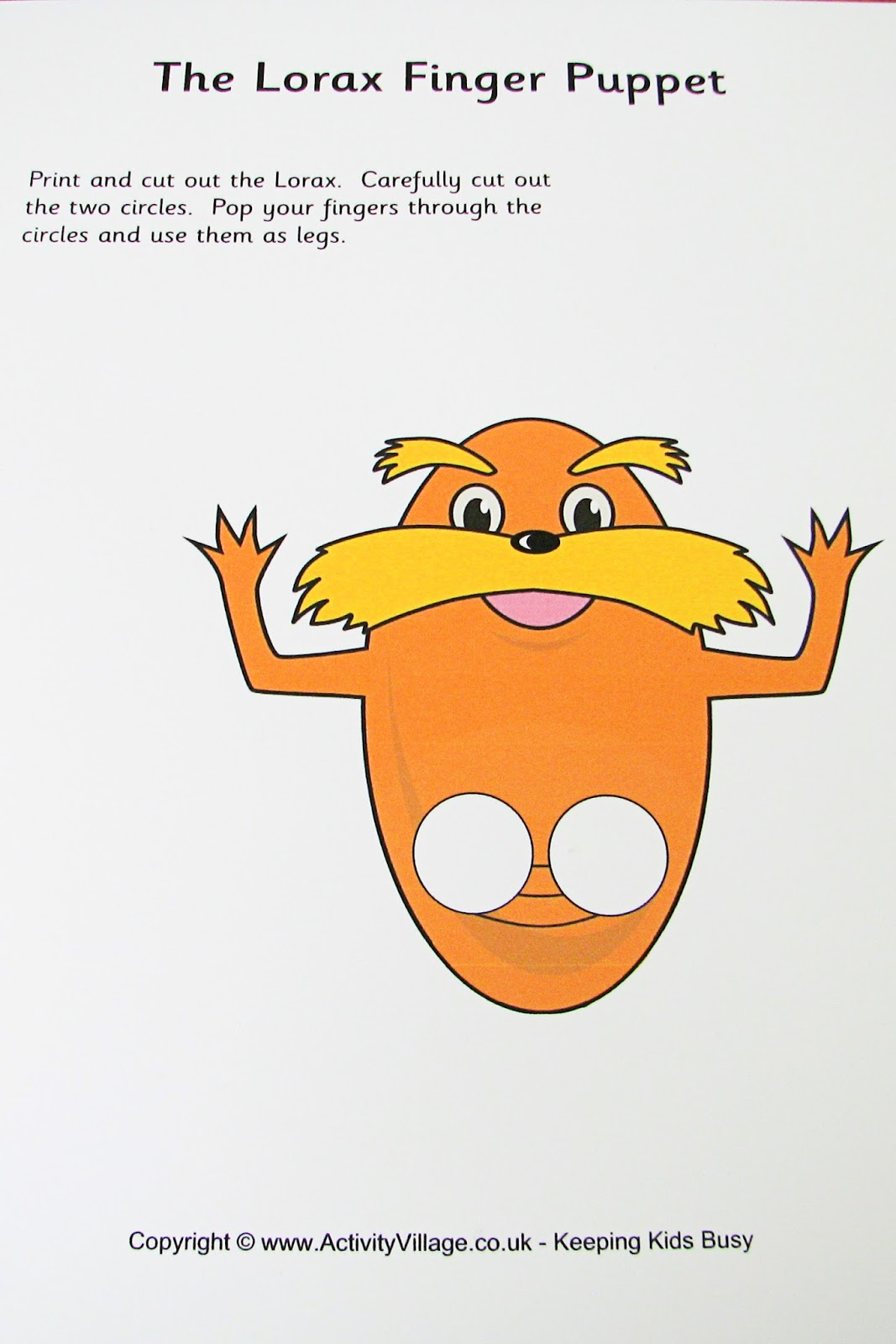 Mommy S Little Helper Letter L Lorax Preschool Theme