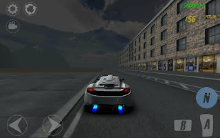 Screenshots of the Streets for speed: The beggar's ride for Android tablet, phone.