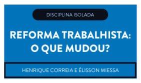 CURSO REFORMA TRABALHISTA