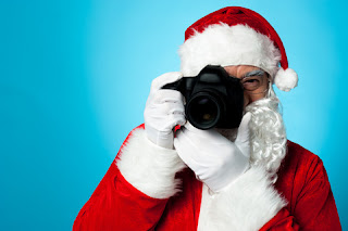 Santa Claus camera photo photographer