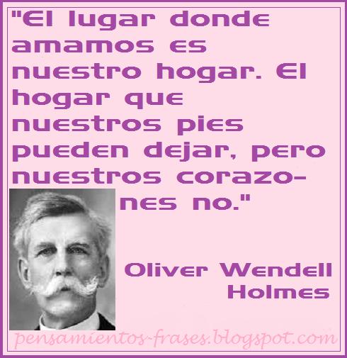 frases de Oliver Wendell Holmes