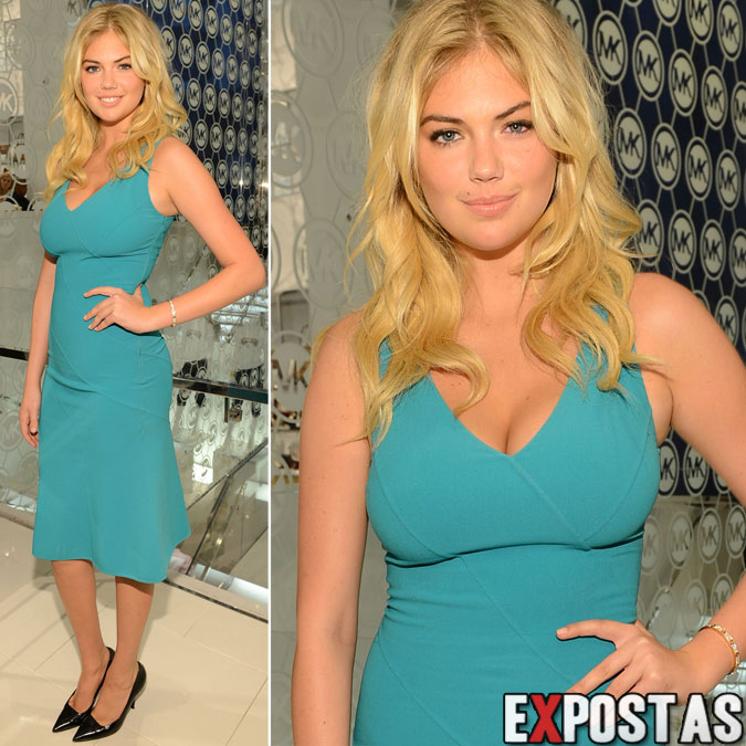 Kate Upton: Michael Kors event na Fashion's Night Out em New York - 06 de Setembro de 2012