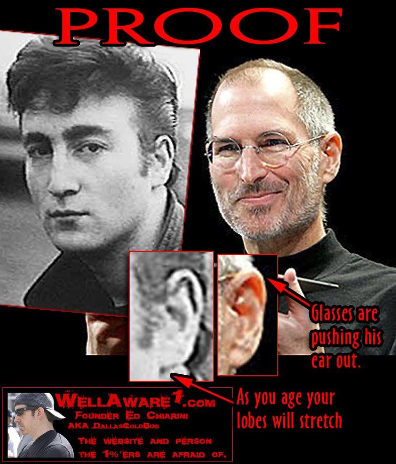 Xdisciple Steve Jobs And John Lennon Were The Same Man