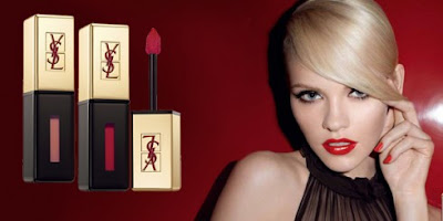 Yes Saint Laurent Rouge Pur Couture Vernis a Levres Glossy Stains