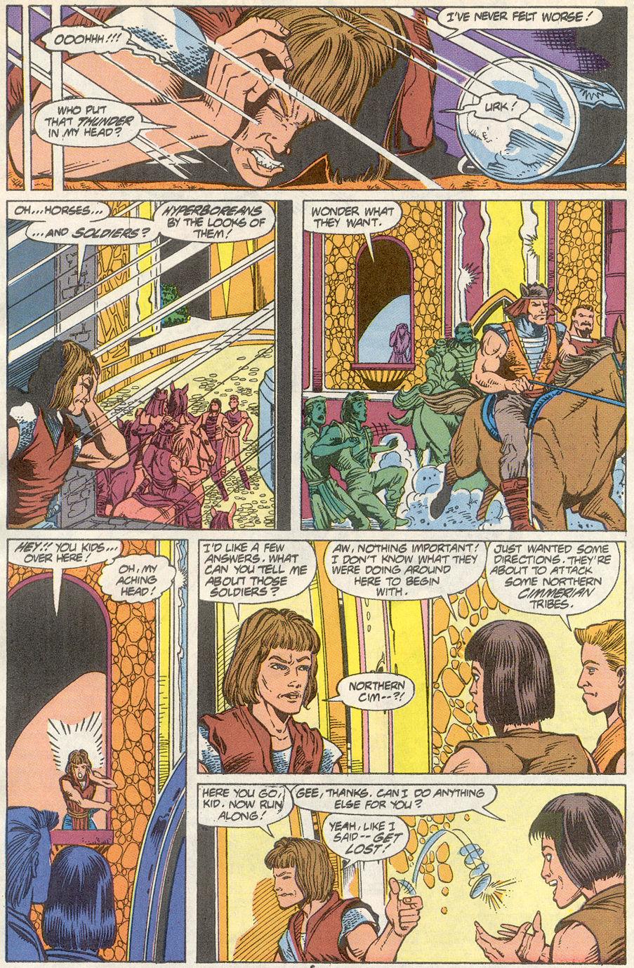 Conan the Barbarian (1970) Issue #234 #246 - English 6