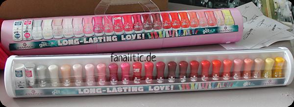 essence the gel nail polish shelfie Sommersortiment 2015
