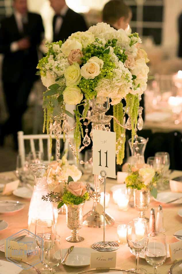 Flora Nova Design, wedding reception decor, white wedding flowers