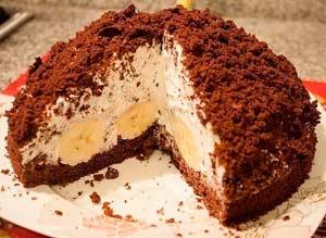 «Норка крота» торт