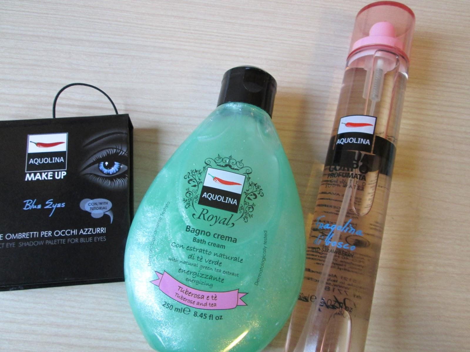 Bagno Doccia Crema Aquolina : Aquolina presentazione nuovi prodotti