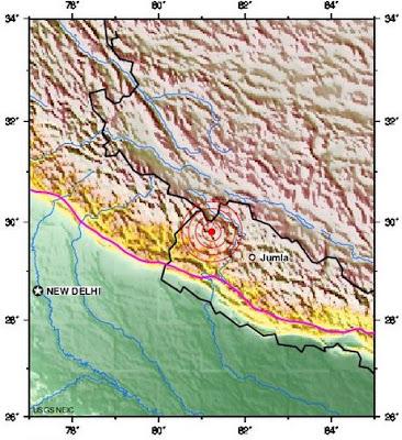 nepal earthquake 2012 february 26