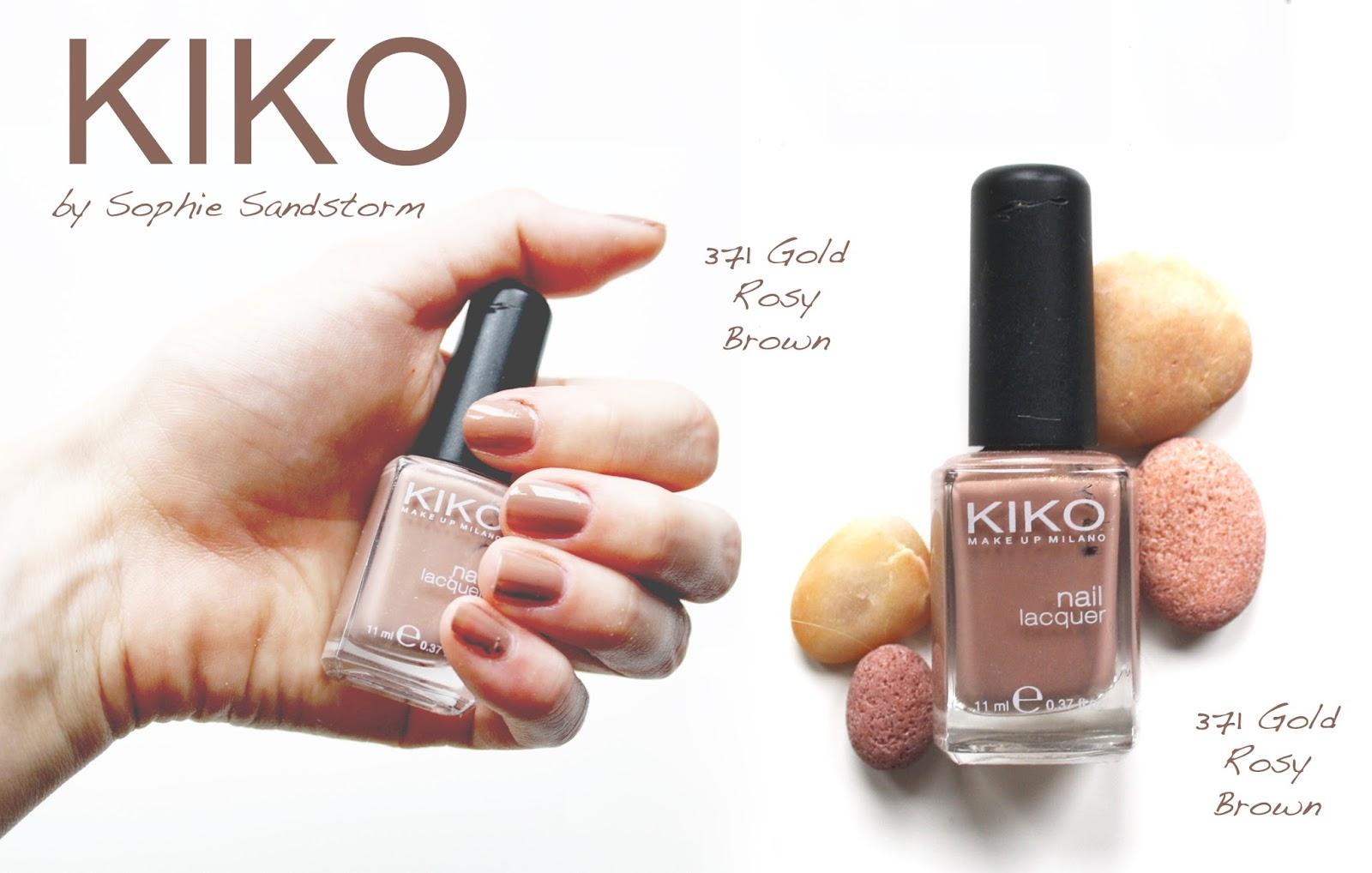 Modern Kiko Nail Polish Make Up Image - Nail Art Ideas - morihati.com
