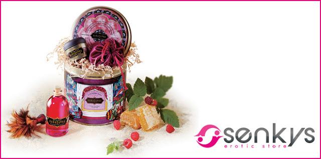 "23 coffrets sensuels ""Trésor d'amour"" avec Senkys.com"