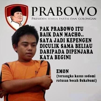 Testimoni Prabowo