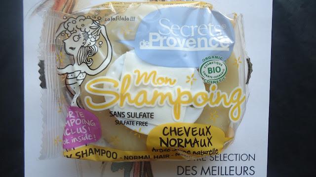 mon shampoing secret de provence