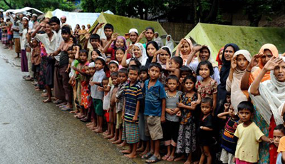 Perihnya Nasib Rohingya
