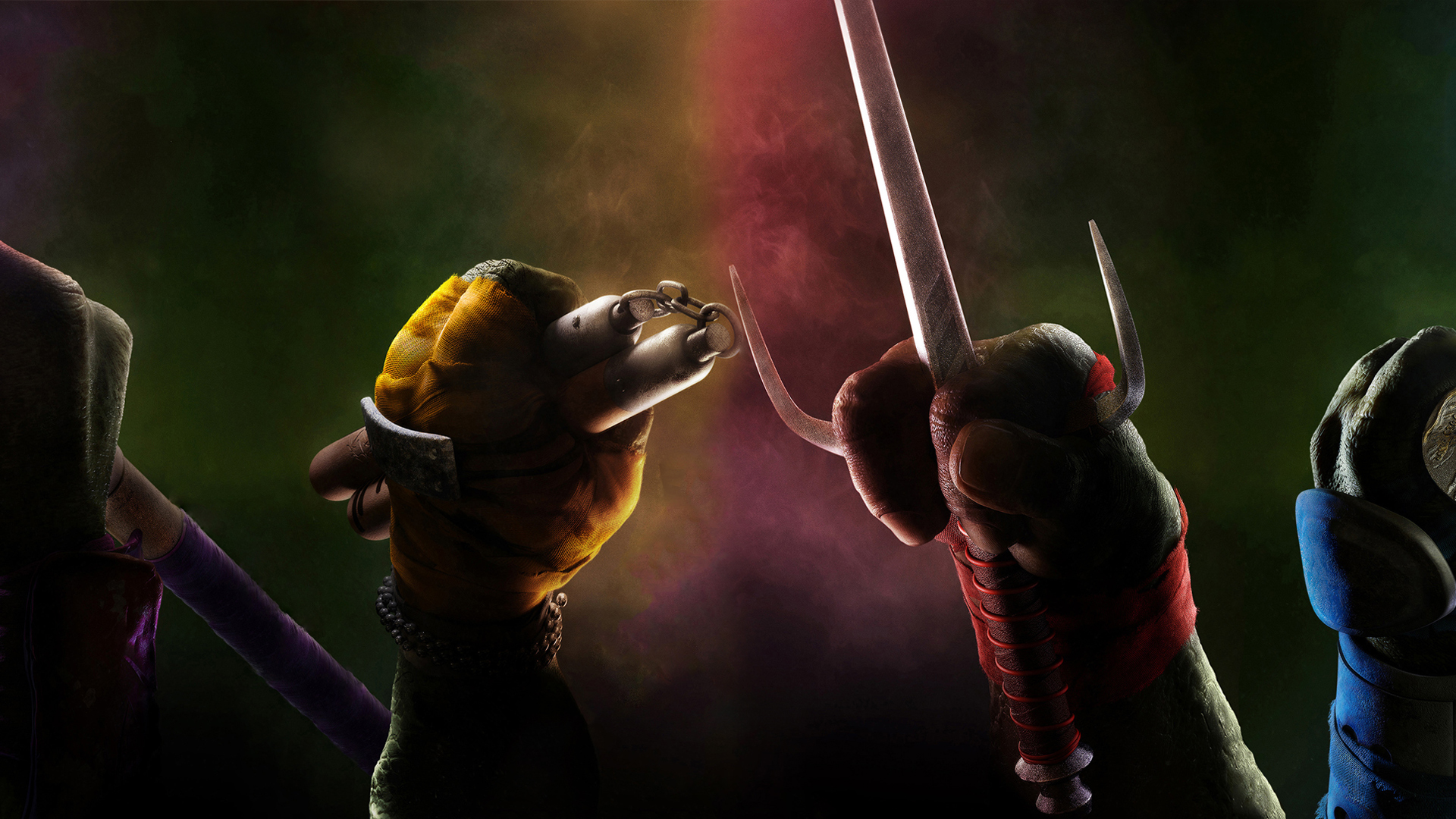 TMNT Donatello d you know movie Donnie is feet