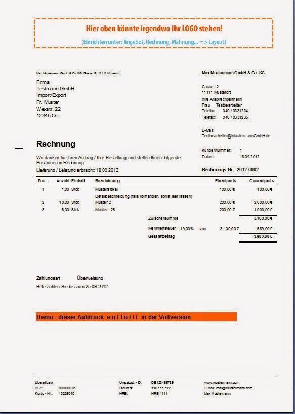 Pflichtangaben Rechnung Gmbh : rechnungsprofi software tools softwareentwicklung ~ Themetempest.com Abrechnung