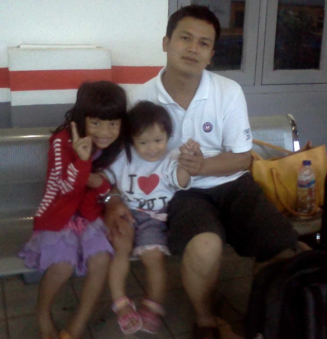 My beloved husband and daughters