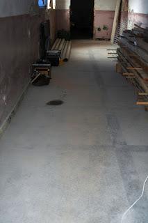 Cleared corridor