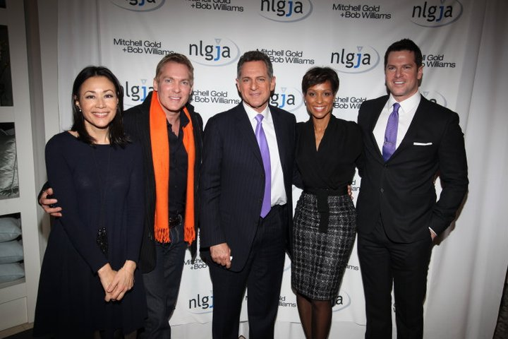 Ann Curry, Sam Champion, Bill Ritter, Sade Baderinwa and Thomas Roberts