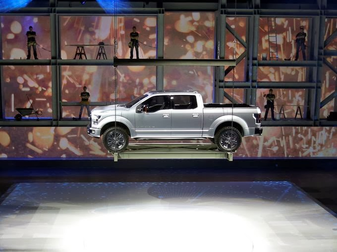 The F-150 Trade In: Aluminum for Steel