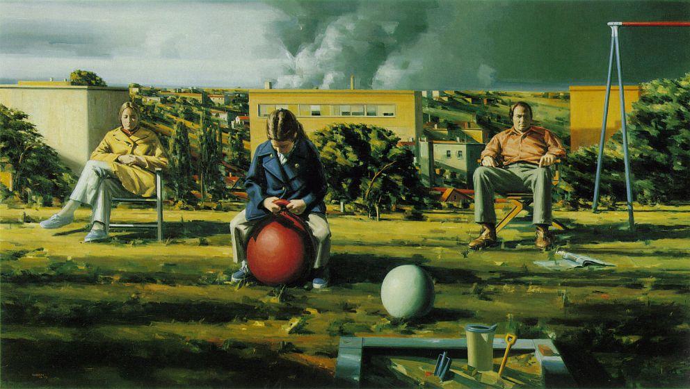 Souvent La Quête de Perceval: Sidney Goodman, peintre américain KV41
