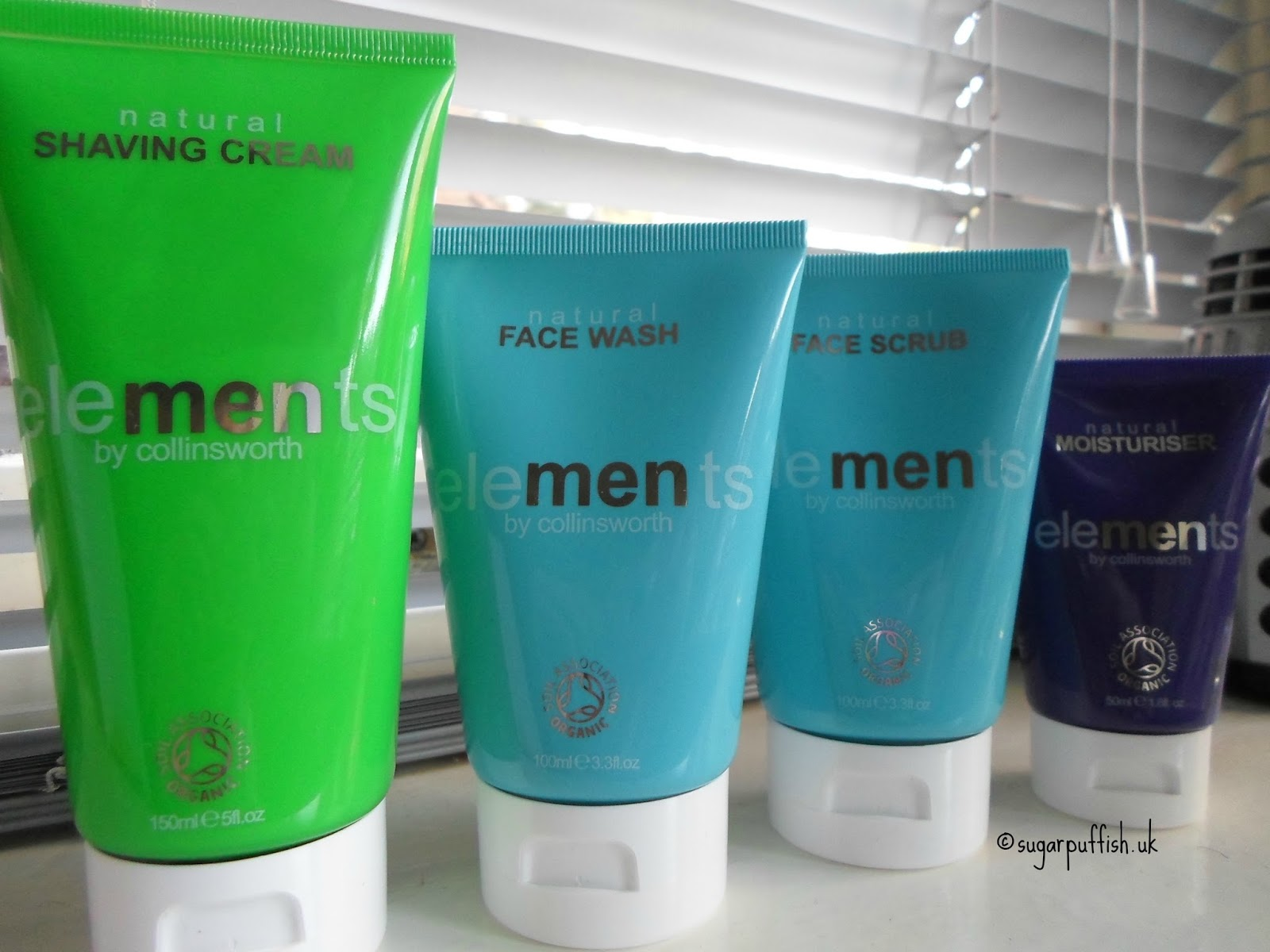 Elements Natural Skincare for Men