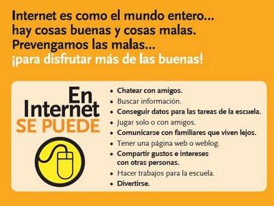 En Internet se puede...