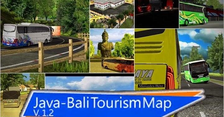 java bali map tourism map v12 uk truck simulator free mod