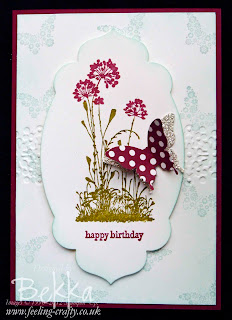 Serene Silhouettes Birthday Card by Bekka Prideaux, Stampin' Up! Demonstrator - check out her blog for cute project ideas