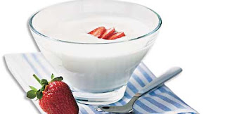 Iogurte caseiro light
