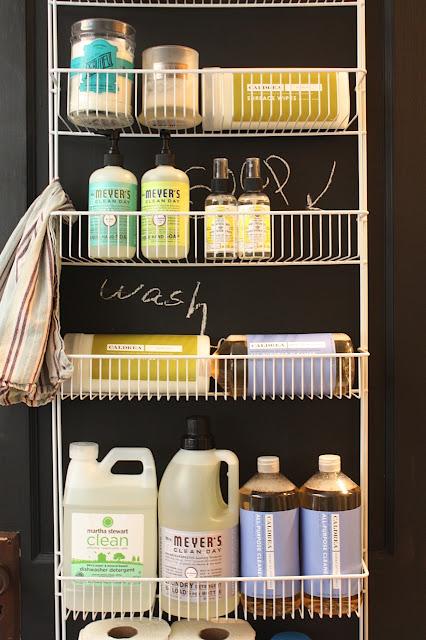 My Sweet Savannah Laundry Room Organization