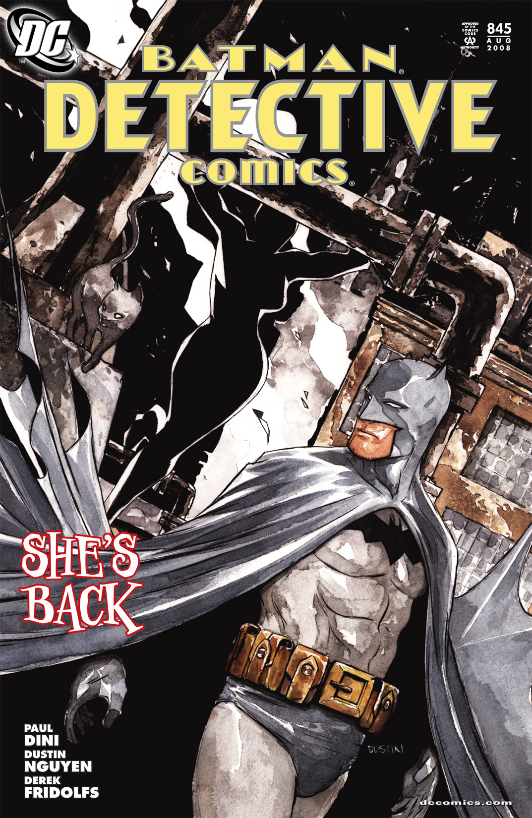 Detective Comics (1937) 845 Page 1