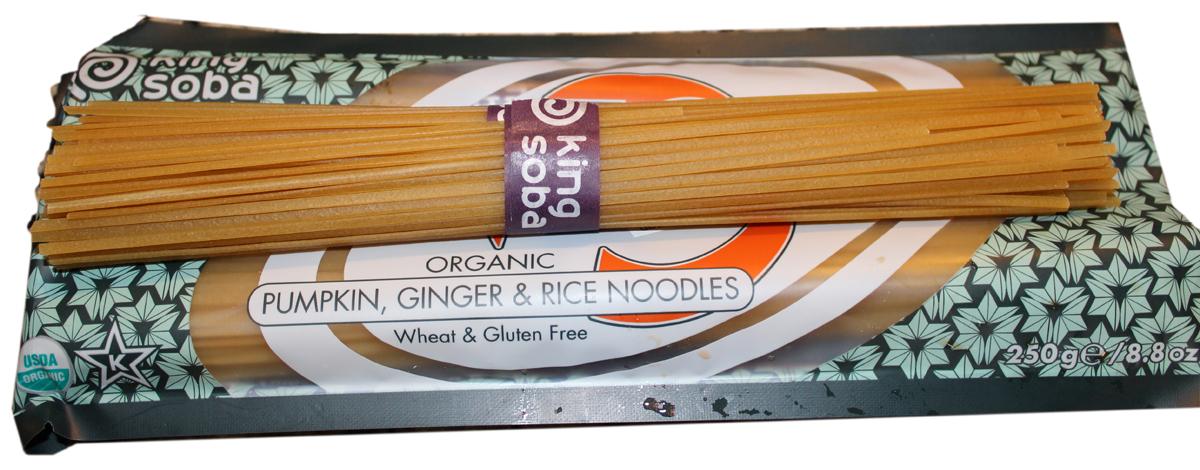 King Soba noodle culture Pumpkin, ginger & rice noodles
