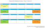 Calendrio de Exames 3Ano - 2Semestre