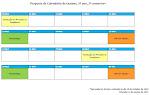 Calendário de Exames 3ºAno - 2ºSemestre