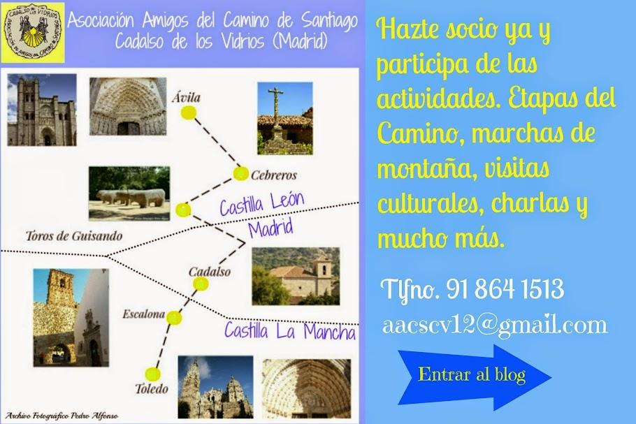 Asociación Amigos del camino de Santiago de CADALSO DE LOS VIDRIOS