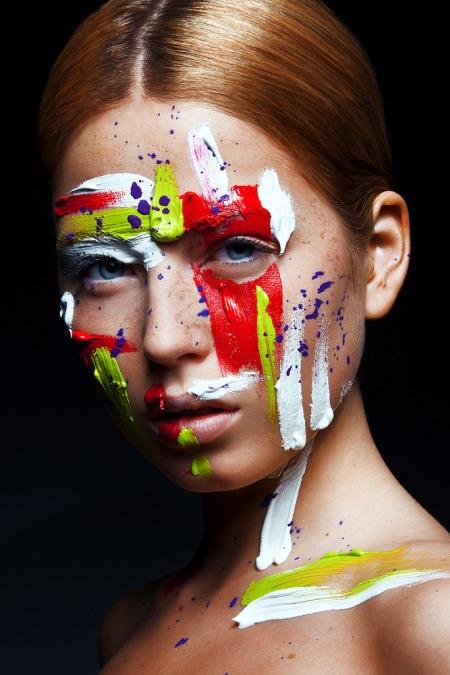 viktoria stutz fotografia modelos cara pintada