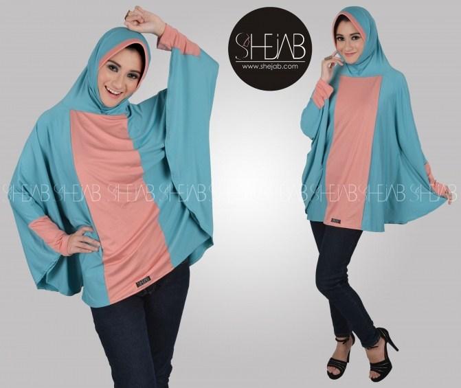 Gambar Model Baju Muslim Casual Terbaru Simple Modern
