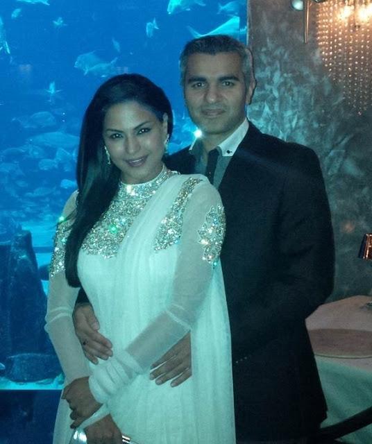 Veena Malik boyfriend Umar Farooq Zahoor