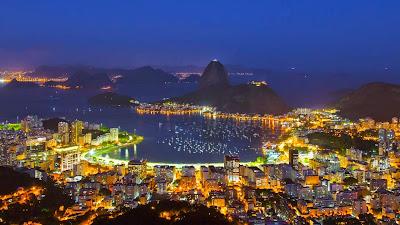 Sugar Loaf Mountain and Guanabara Bay, Rio de Janeiro, Brazil (© Bronek Kaminski/Getty Images) 193