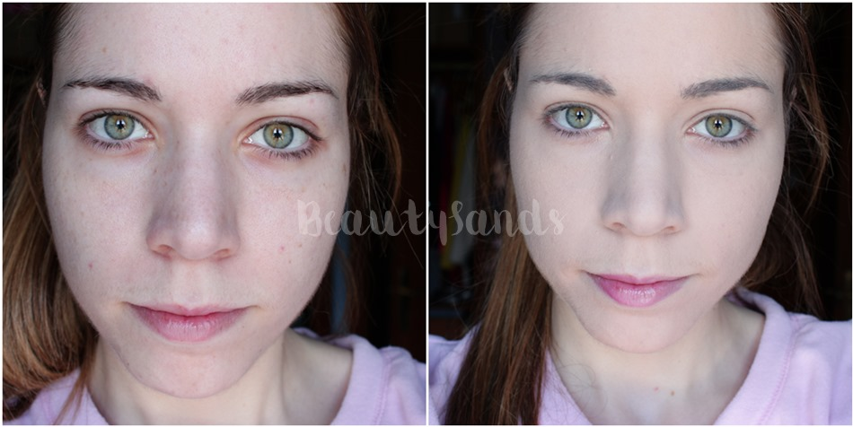 Aritaum all day foundation before after