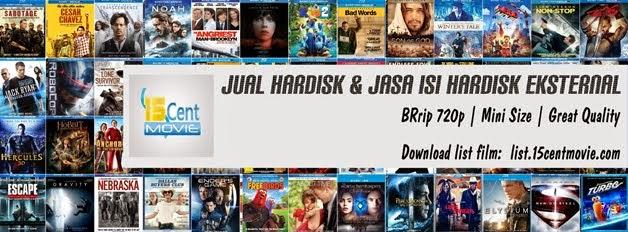 Jasa Isi Hardisk BRrip 720p Yogyakarta
