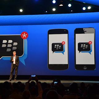 Peluncuran kembali BBM untuk Android dan iOS