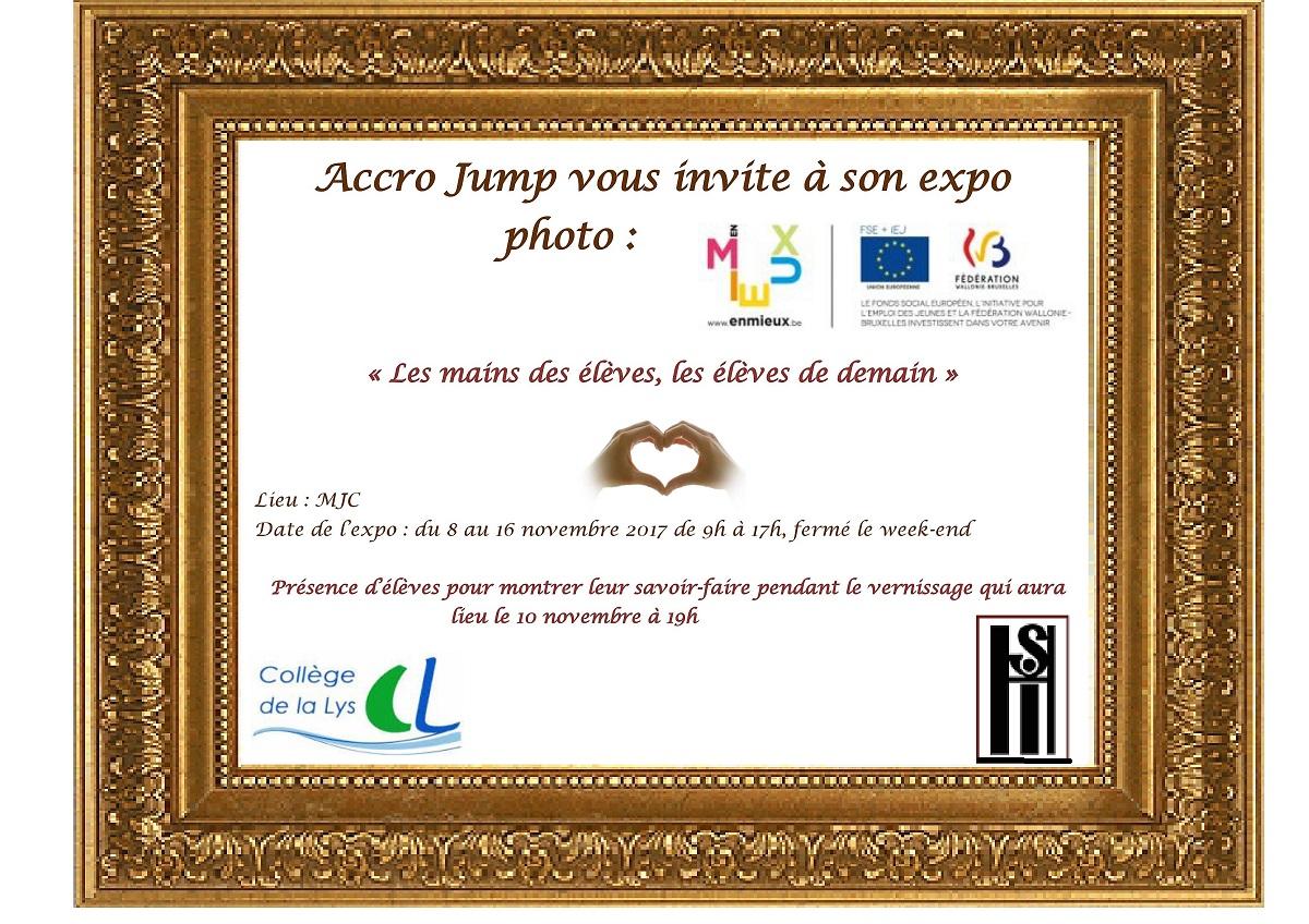 EXPO ACCRO JUMP 8 NOVEMBRE