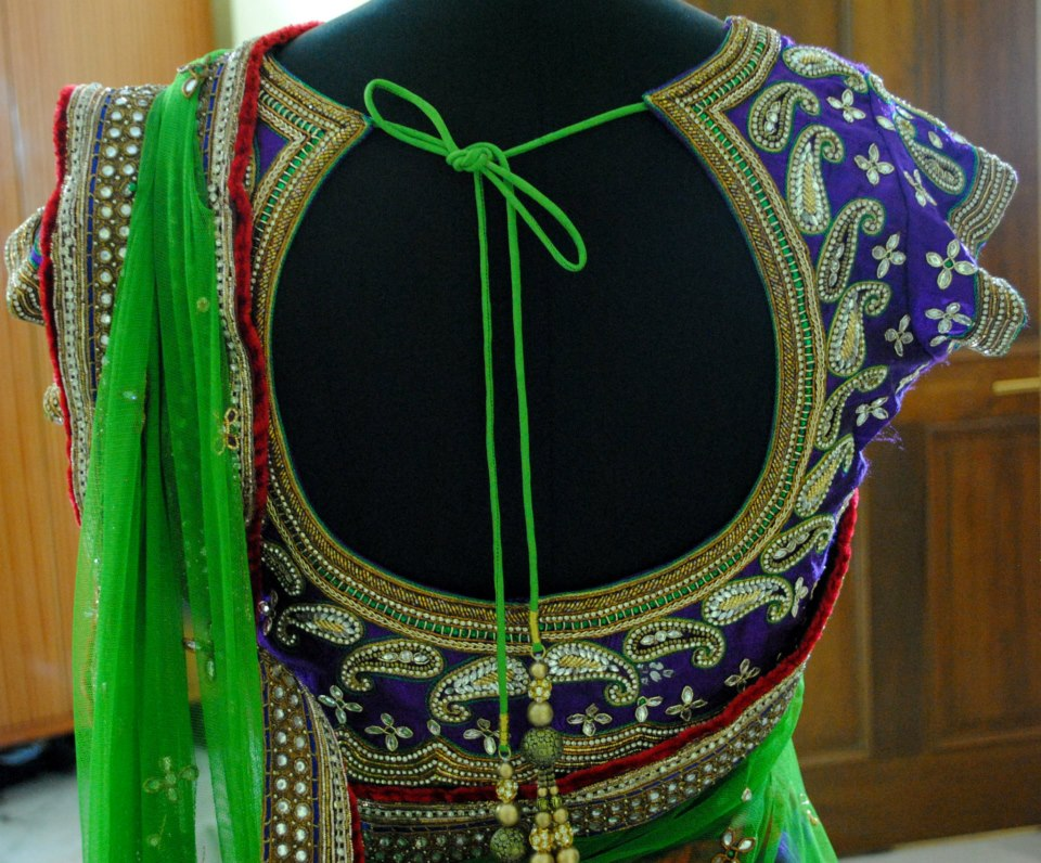 Models of blouse designs embroidery