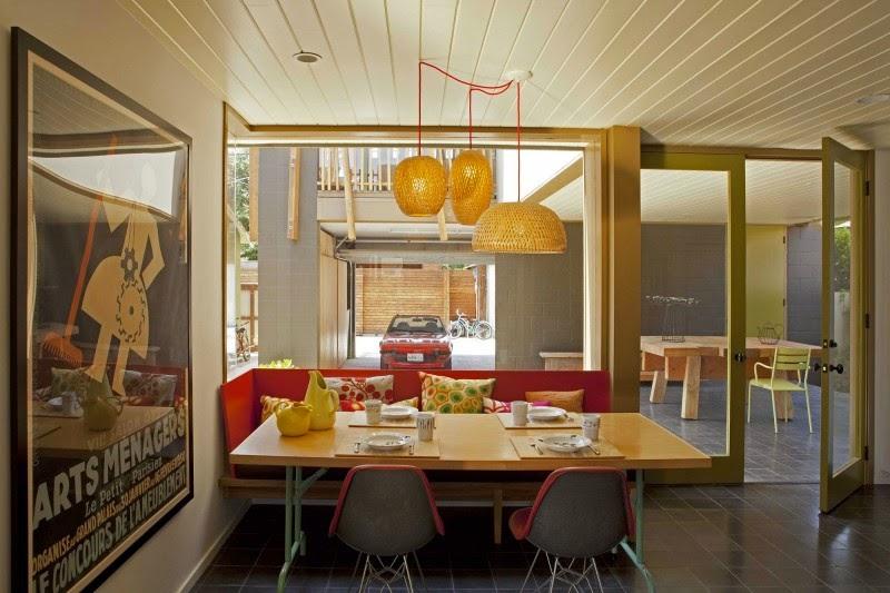 model lampu hias ruang makan