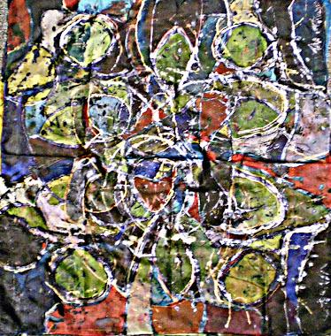 """Semi precious (29"""" X 29"""") 09/11/2010"""