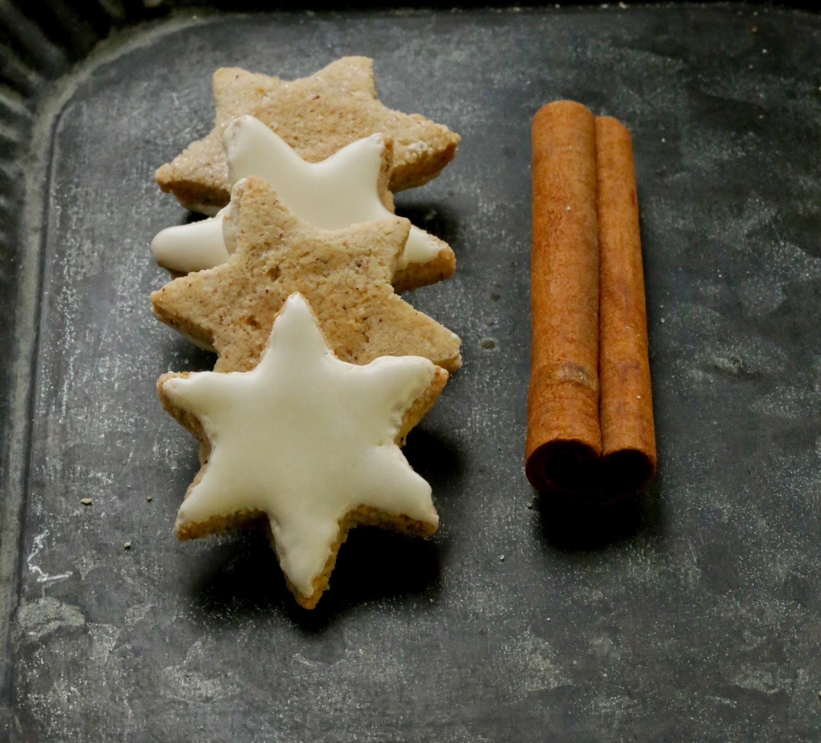 etoiles cannelle , zimsterne, gâteaux Noel , bredele , Avent