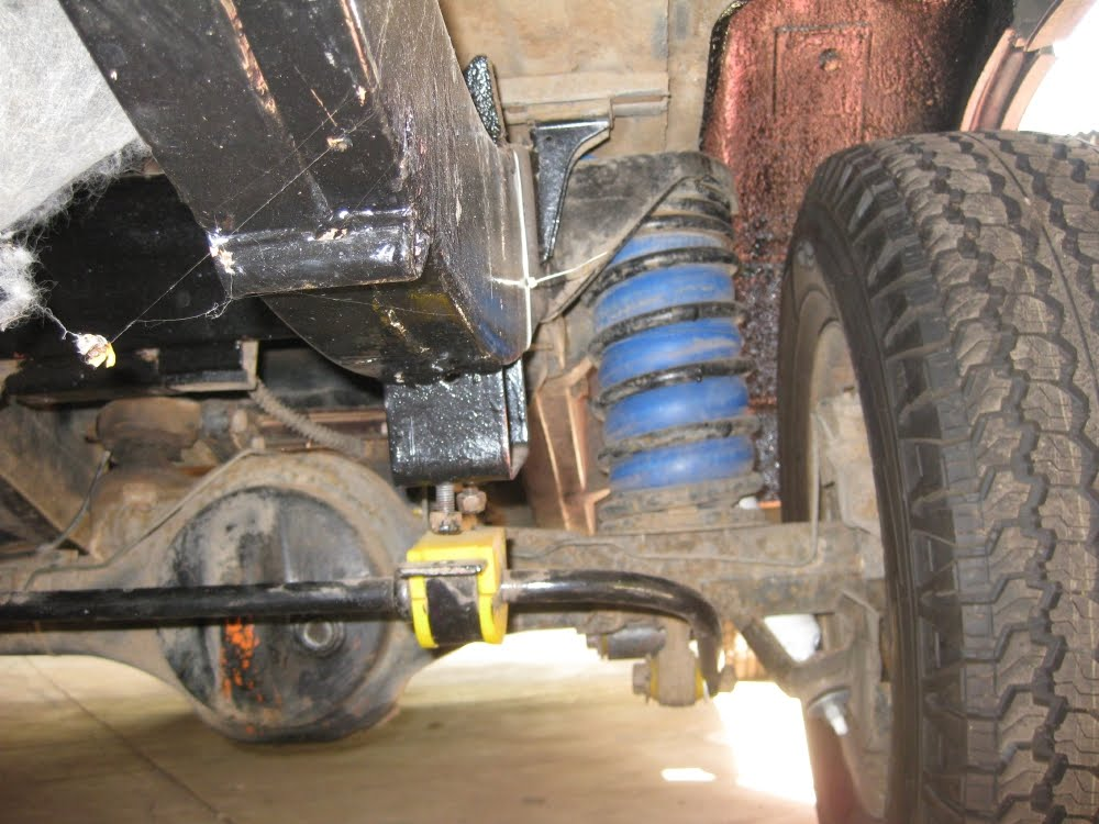Electric Land Rover Discovery New Rear Springs